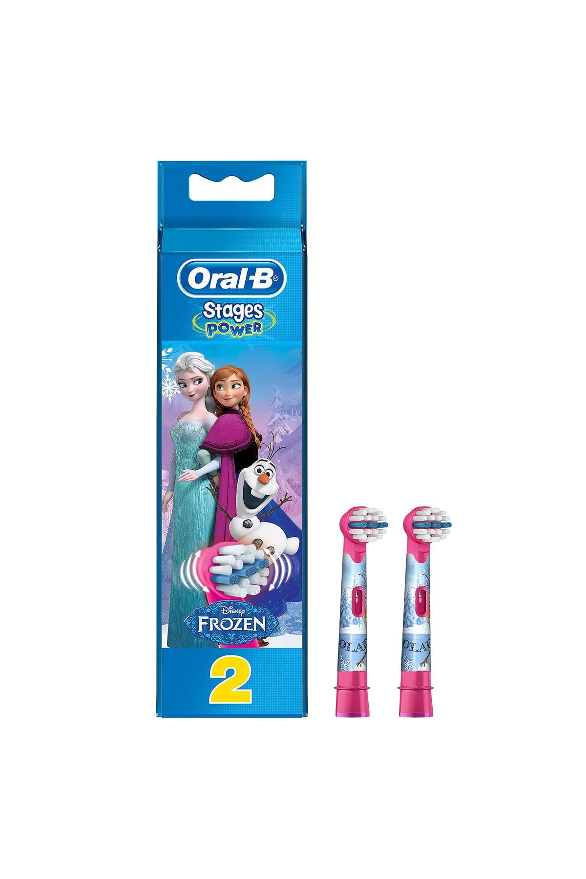 Stages Çocuklar Için Diş Fırçası Yedek Başlığı Frozen