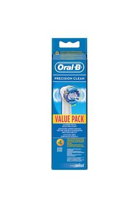 Oral-B Diş Fırçası Yedek Başlığı Precision Clean 4 Adet 1