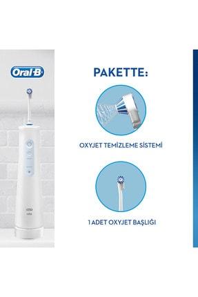 Oral-B Aquacare Oxyjet Sarj Edilebilir Diş Fırçası 1