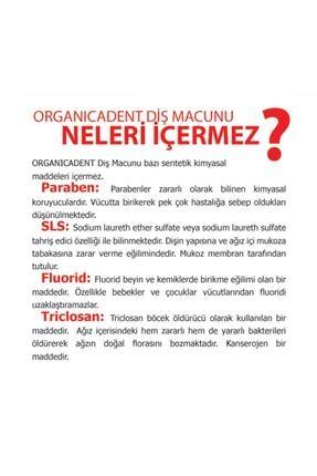 Organicadent Florürsüz Doğal Çocuk Diş Macunu 50ml + Doğal 75ml X1 1