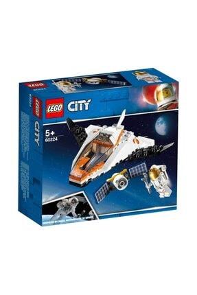 LEGO City Uydu Servis Aracı 0