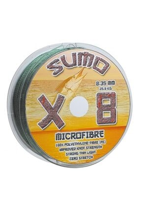 EFFE Sumo 8 Kat Örgü İp Misina 300 mt / 0.15 mm 1