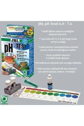 JBL Ph 6.0-7.6 Akvaryum Suyu Test Seti 1
