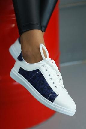 Ayakkabı Modası Kadın Beyaz Spor Ayakkabı 0