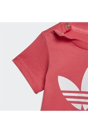 adidas Kız  Çocuk Pembe Tişört 2