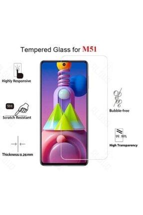 BizimGross Samsung Galaxy M51 Nano Esnek Kırılmaz Cam Ekran Koruyucu 4