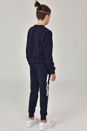 bilcee Erkek Çocuk Lacivert Sweatshirt FW-1430 3