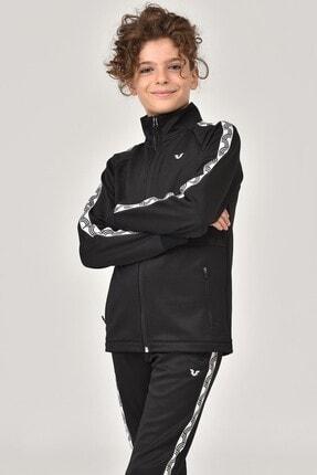 bilcee Siyah Unisex  Çocuk Eşofman Takımı FS-1450 4
