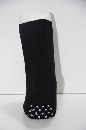 Baby Stromper Çocuk 5li Havlu Tabanaltı Abs Baskılı Ayı Desenli Çorap 3