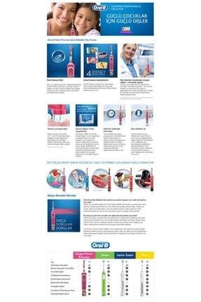 Oral-B D100 Çocuklar Için Şarj Edilebilir Diş Fırçası Princess+puzzle 1