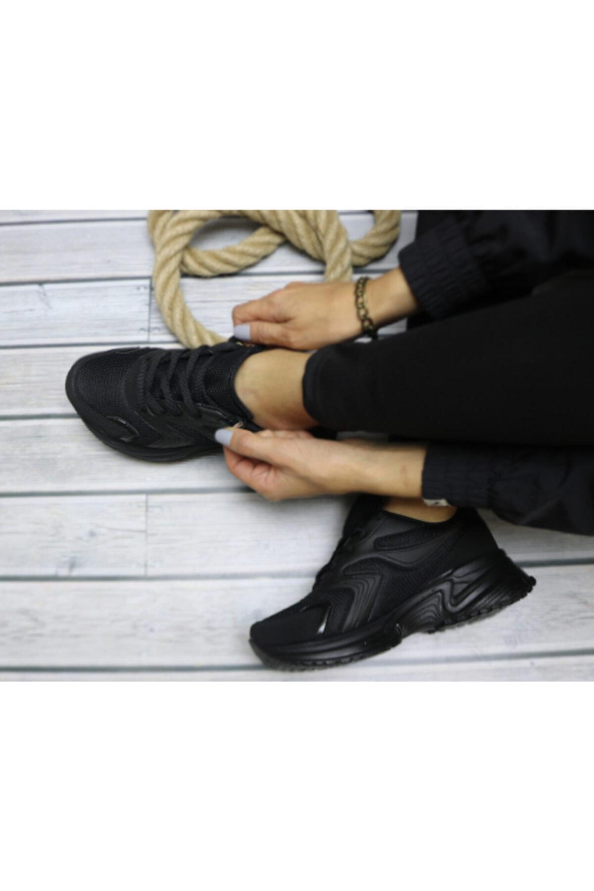 Trendway Kadın Gri Spor Ayakkabı