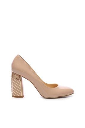 Kemal Tanca Kadın Bej Topuklu Ayakkabı 22 926 0