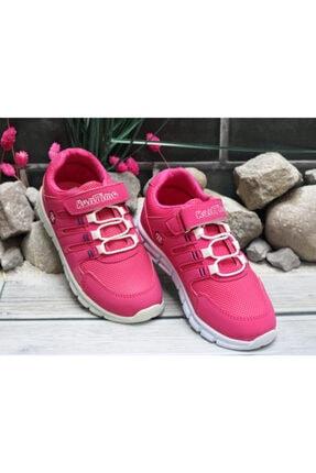 Trendway Kız Çocuk Pembe Spor Ayakkabı 2