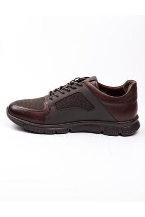 Libero 3599 Faylon Kahverengi Deri Erkek Günlük Ayakkab Kahverengi-42 2