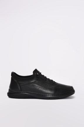 Yaya by Hotiç Hakiki Deri Siyah Erkek Sneaker 02AYY189610A100 0