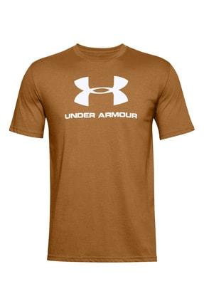 Under Armour Erkek Spor T-Shirt - Ua Sportstyle Logo Ss - 1329590-707 3