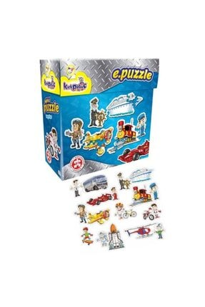 Kırkpabuç Puzzle 6115 E.puzle Taşıtlar/vehıcle 0