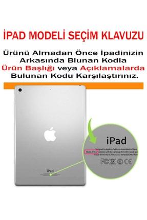 MOBAX Apple Ipad Air 2 Kılıf Pu Deri Smart Case A1566 A1567 Kırmızı 3