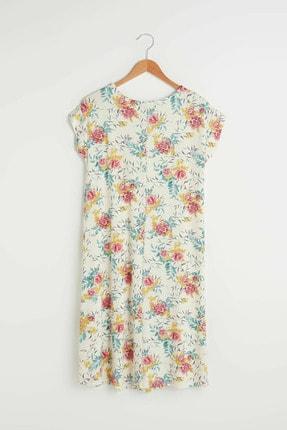 LC Waikiki Kadın Açık Pembe Baski LCW Grace Elbise 1