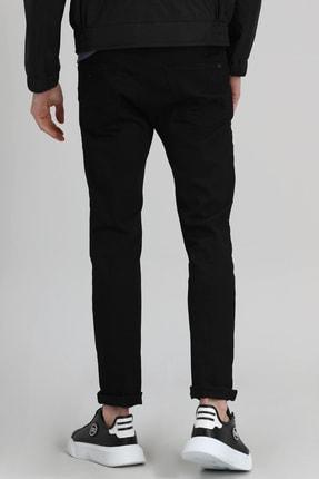 Lufian Paul Smart Jean Pantolon Slim Fit Siyah 3