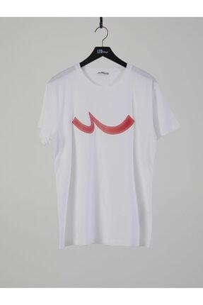 Ltb Erkek  Beyaz  Baskılı  Kısa Kol Bisiklet Yaka T-Shirt 012208415960890000 0