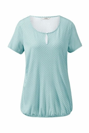 Tchibo Organik Pamuklu Bluz Su Yeşili 1