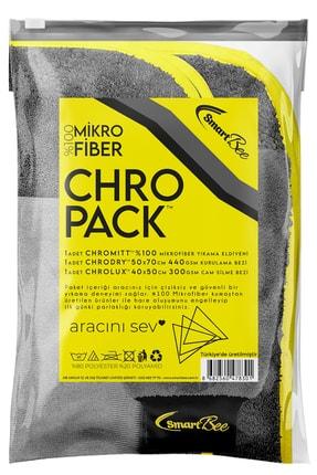 SmartBee Chropack Mikrofiber Oto Yıkama Paketi 0