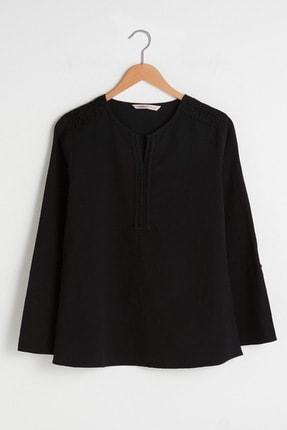 LC Waikiki Kadın Yeni Siyah LCW Grace Bluz 0