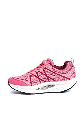 Lescon Kadın Pembe Sneaker L-4629 - 17BAU004629Z_706 2