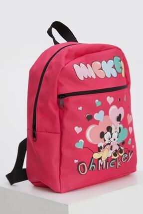 Defacto Kız Çocuk Minnie Mouse Lisanslı Sırt Çantası 1
