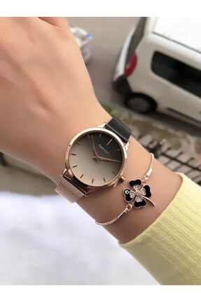 Ferrucci Kadın Saati + Bileklik 0