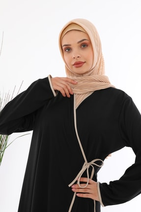 miss ledonna Yandan Bağlamalı Namaz Elbisesi 2
