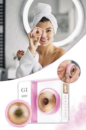 Xolo Gi Mask Ultrasonik Maske Uygulama Cihazı Işık Terapi Akıllı Peeling Pembe Yüz Maske Masaj Cihazı 0
