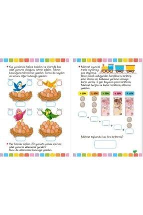 Ya-Pa Yayınları 4 - 5 - 6 Yaş Matematik & Kodlama Çalışması Etkinlik Seti 10 Kitap 4