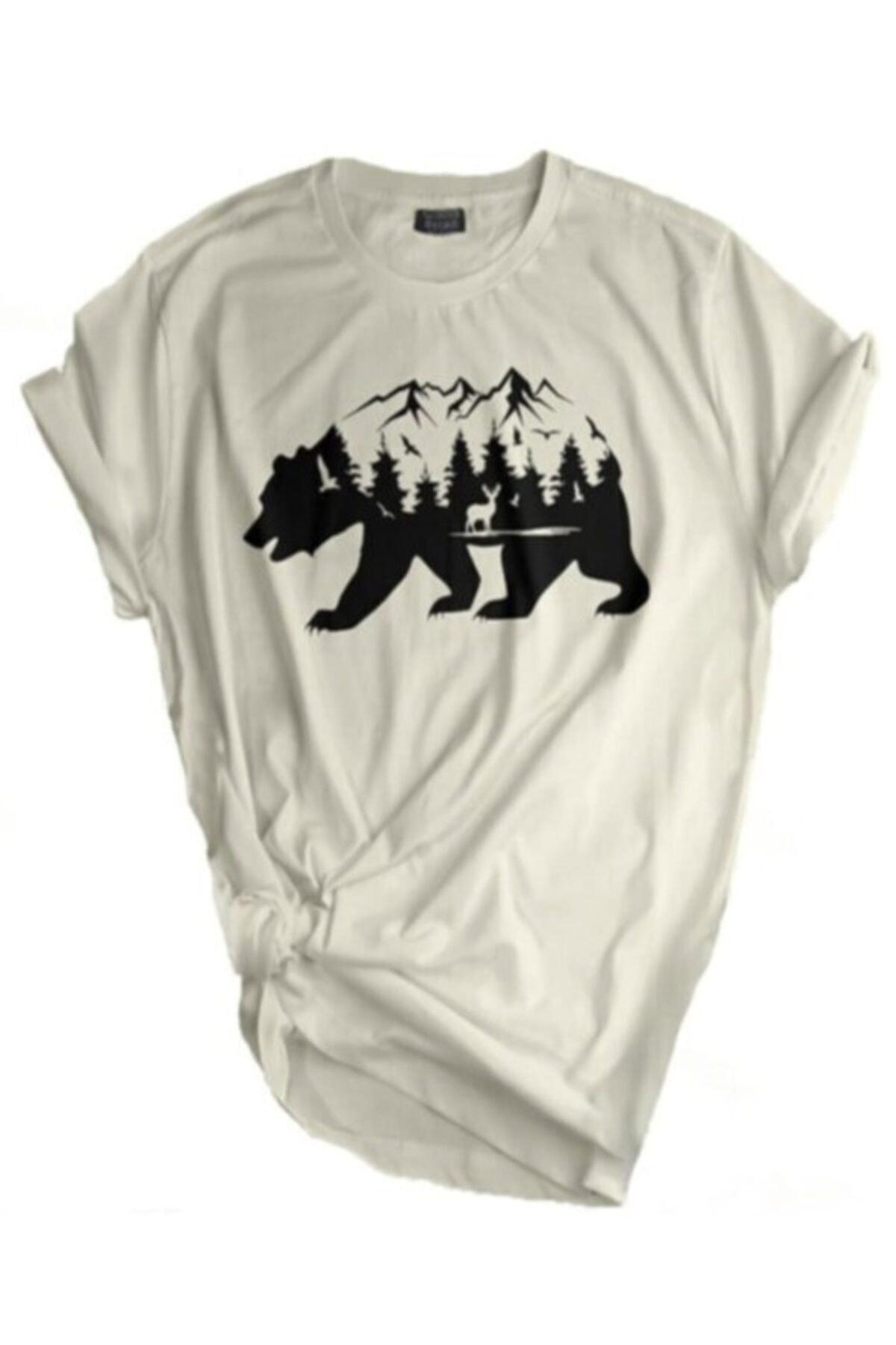 Store Unisex Tişört Outdoor Baskılı T-shirt