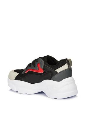 Vicco Nila Unisex Çocuk Siyah Spor Ayakkabı 3