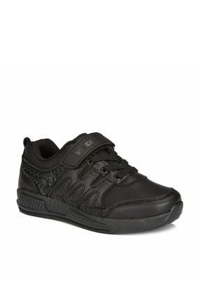 Vicco City Unisex Çocuk Siyah Spor Ayakkabı 0
