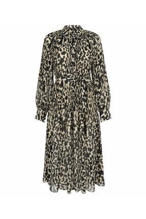 İpekyol Desenli Elbise 4