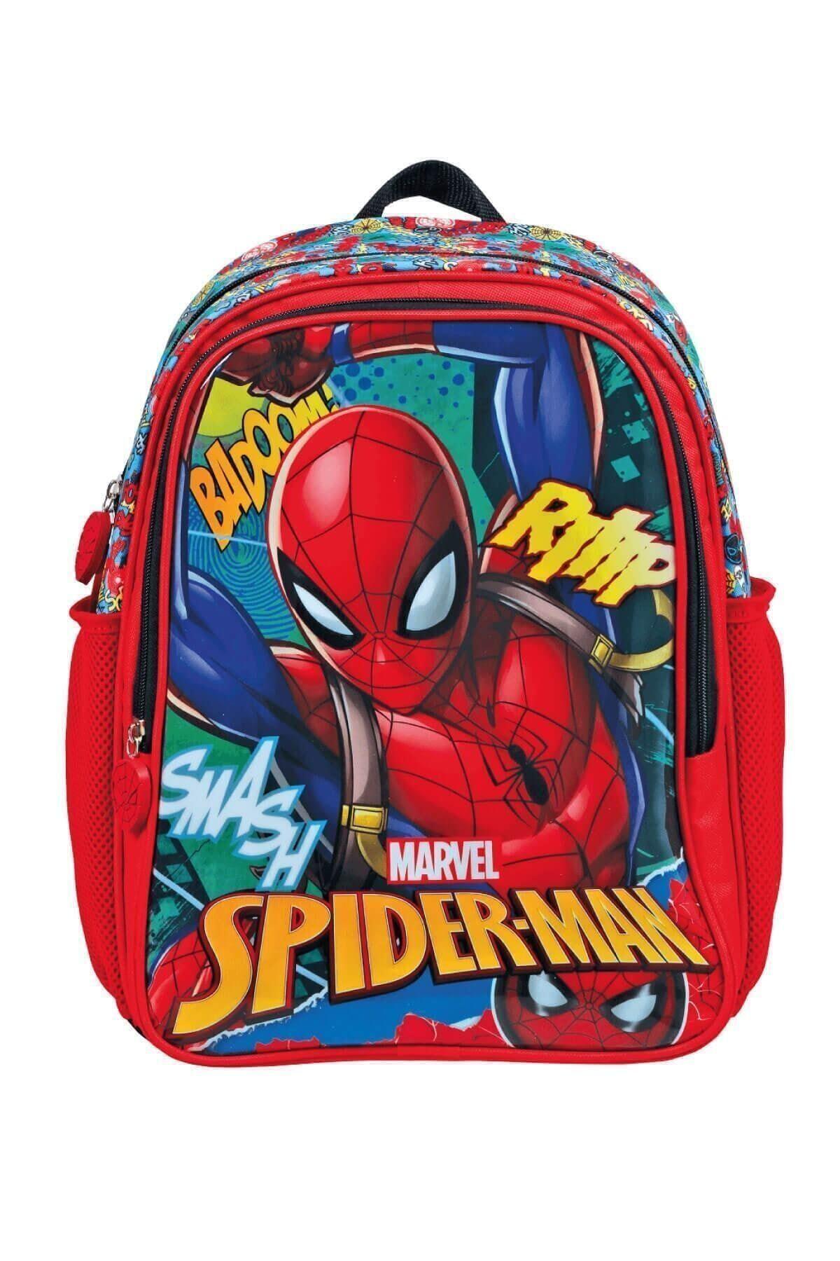 Spiderman Ilkokul Çantası Hawk Graffıtı