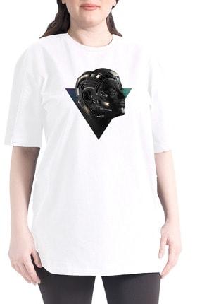 تصویر از Kadın Beyaz T-shirt