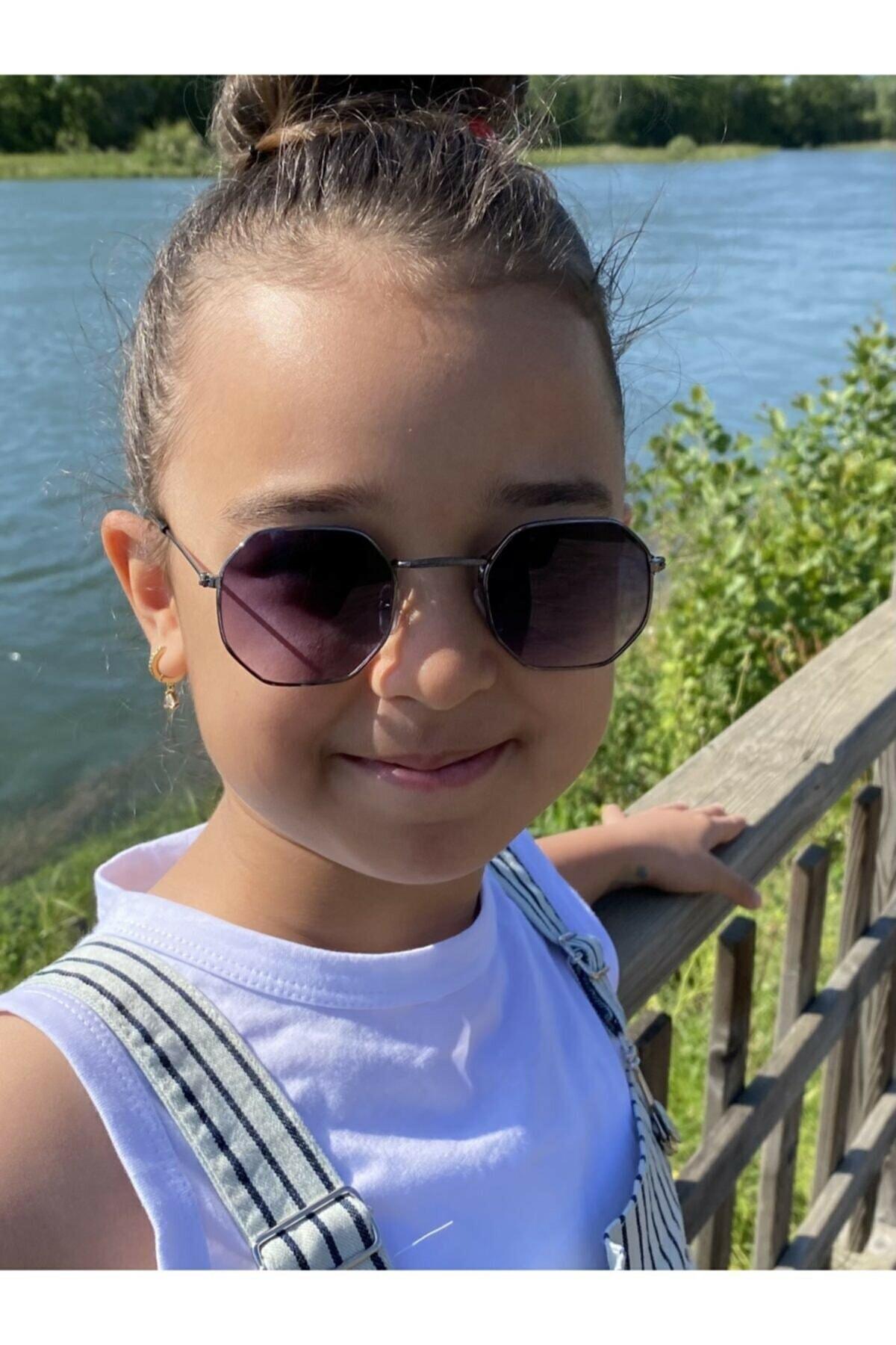 Elittrendshop Unisex Çocuk Güneş Gözlüğü 4 - 8 Yaş Kids Sunglases Uv400