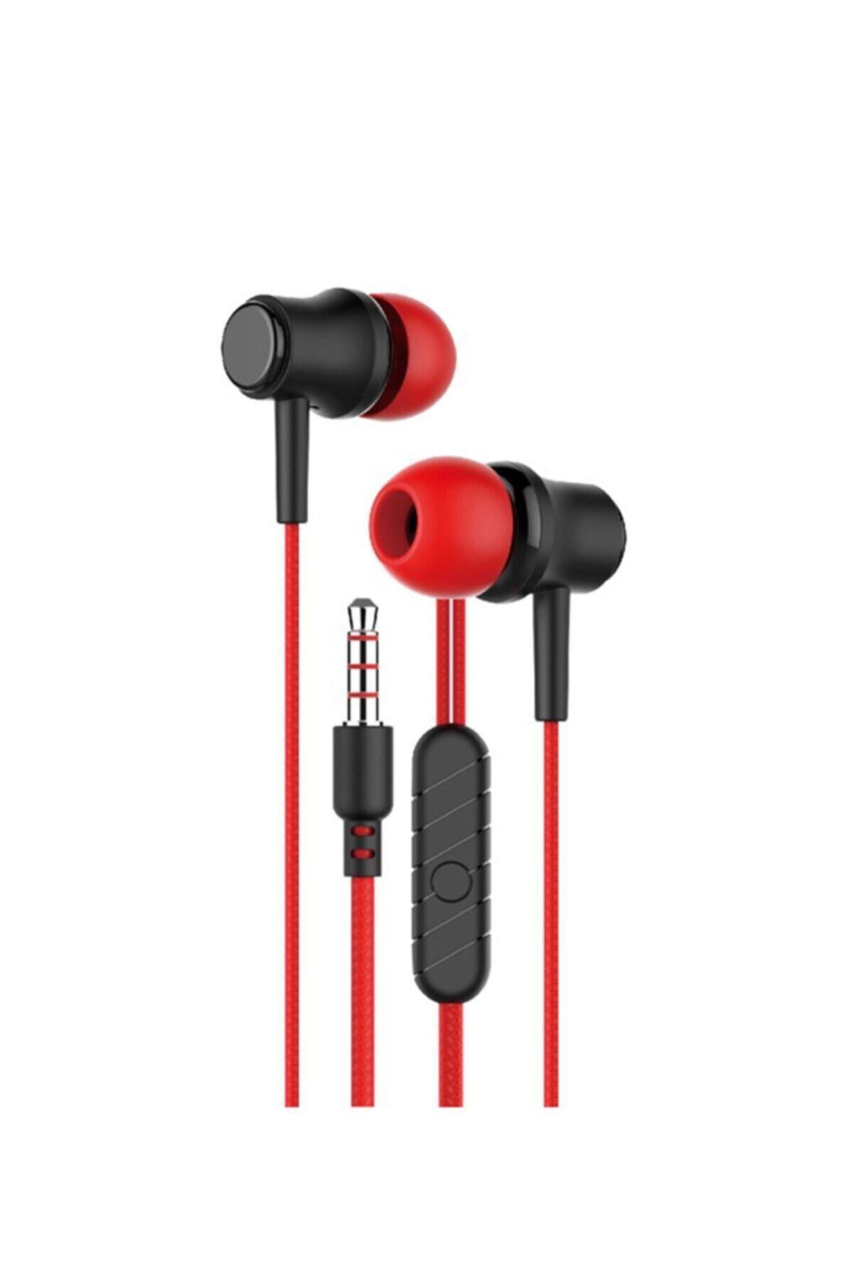 MK-01 Kablolu Mikrofonlu Kulakiçi Kulaklık