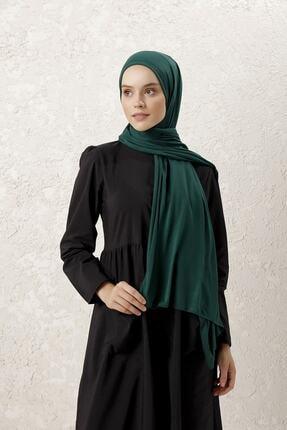 Kadın Zümrüt Yeşili Penye Şal ferdi122675