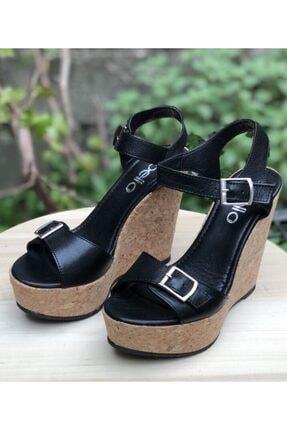 Kadın Yazlık Feta Dolgu Topuk Ayakkabı BELLA51