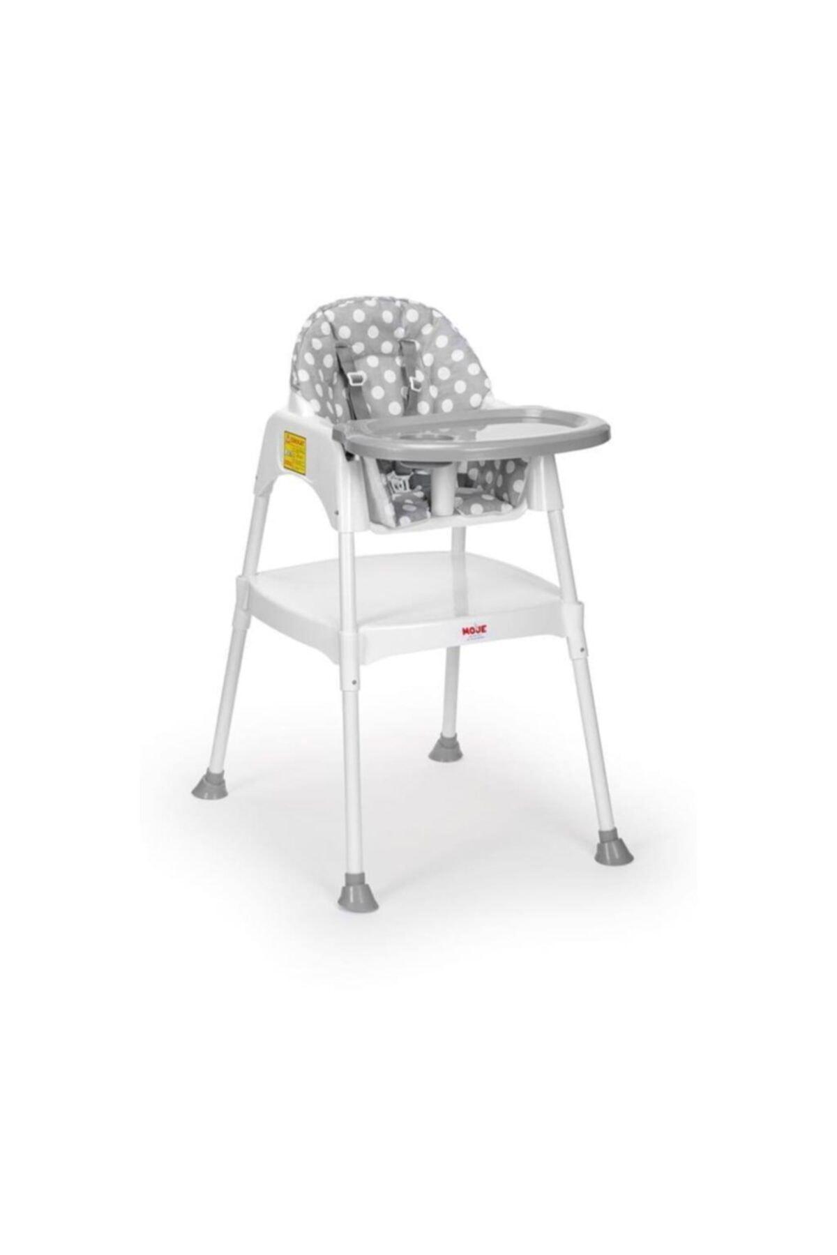 Kılıflı Gri Mama Sandalyesi