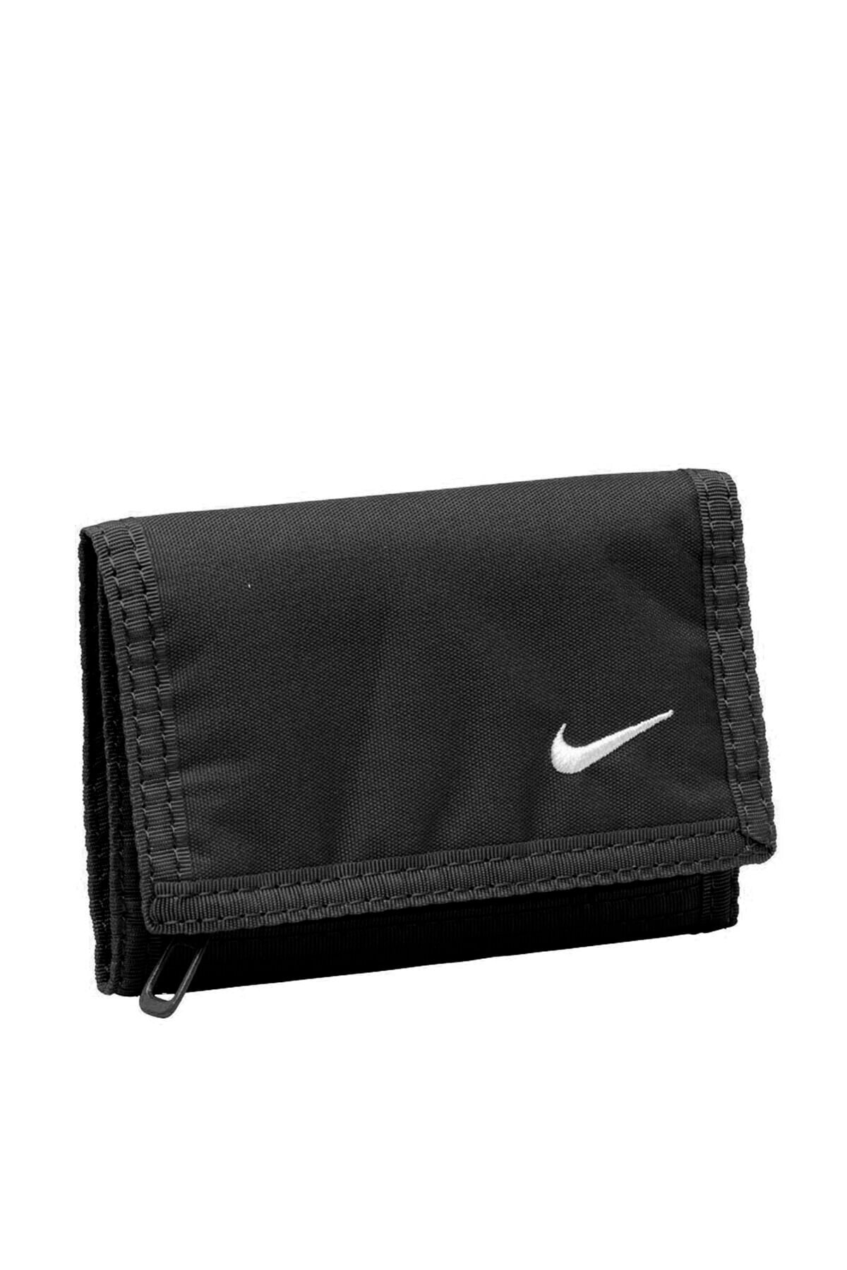 Basic Wallet Nia08068ns Unisex Spor Siyah Spor Cüzdan