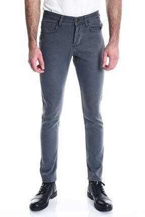 Antrasit Sade Slimfit Erkek Kot Pantolon 10417