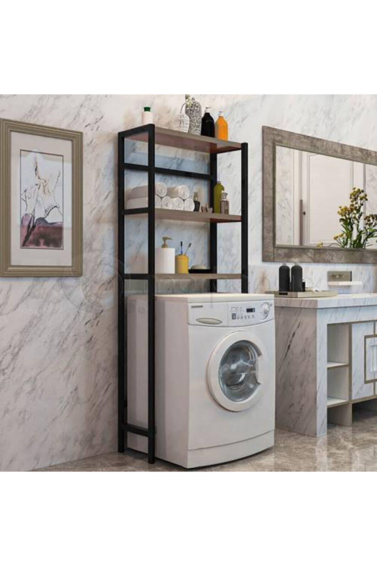 Cosar Group Çamaşır Makinesi Üstü Düzenleyici Raf Banyo Rafı Makina Üstü Çok Amaçlı Dolap