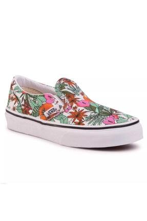 Picture of Kız Çocuk Classic Slip-on Multi Tropic Sneaker Vn0a4butws91