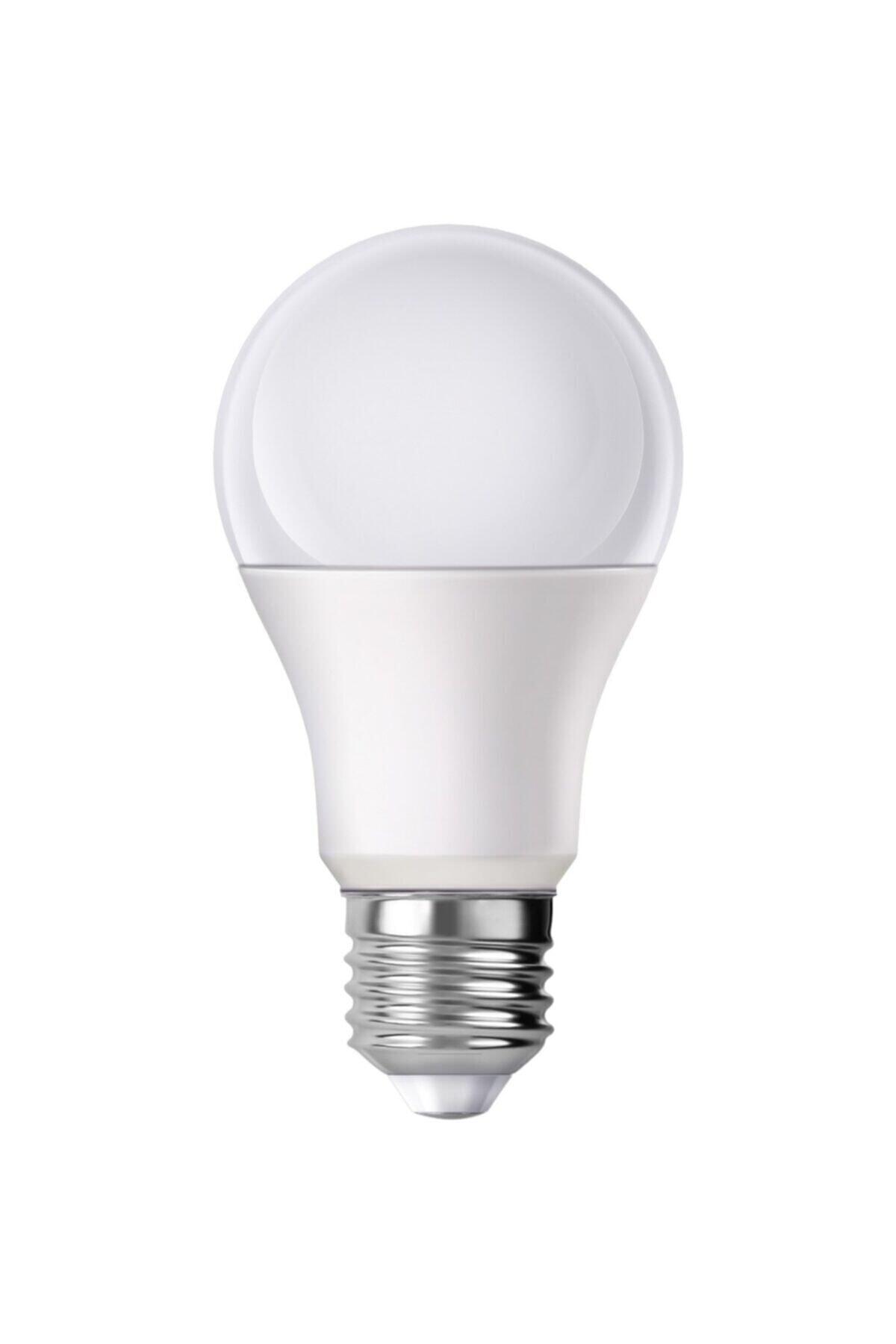 - 10w Led Ampul Beyaz Işık(6500K) E27 Duy